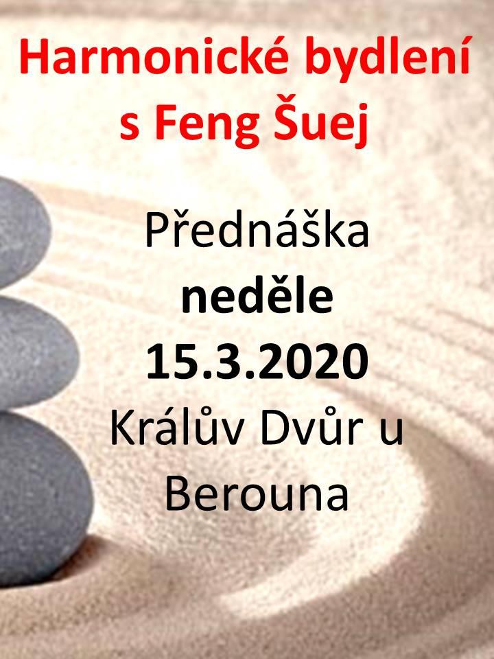 Feng Šuej přednáška Michal Jeřábek 2020