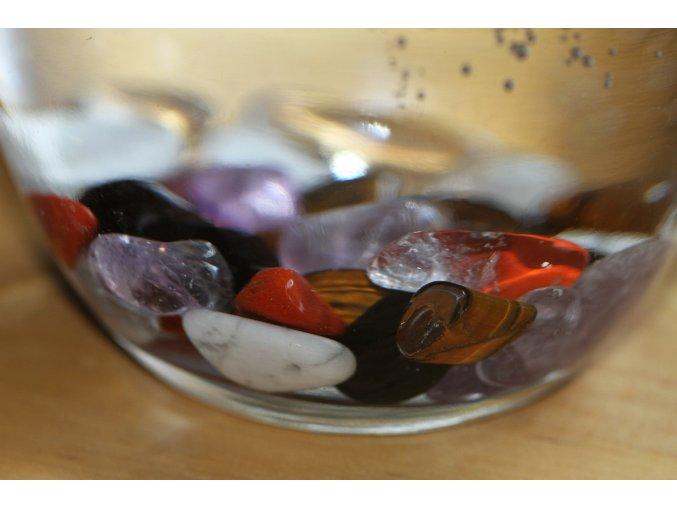 """Kameny do vody na přípravu elixíru """"Prevence, Imunita a Obranyschopnost organizmu""""  Směs leštěných minerálů / Kameny do vody"""