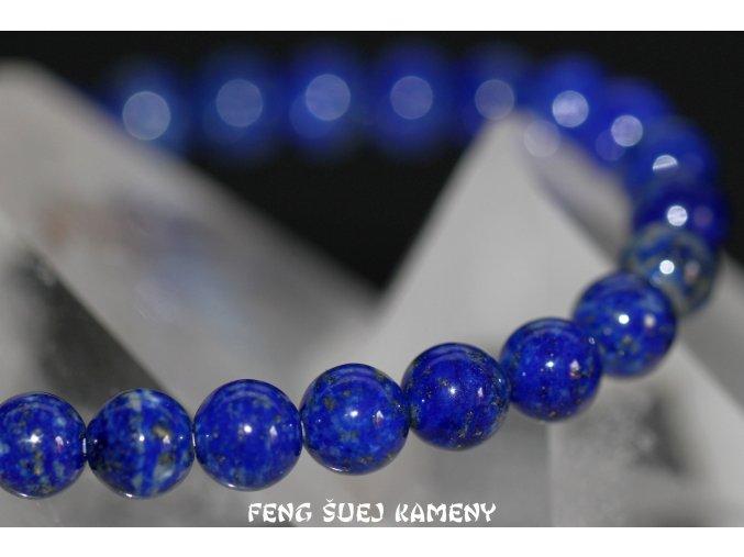 lapis lazuli náramek kuličky 6