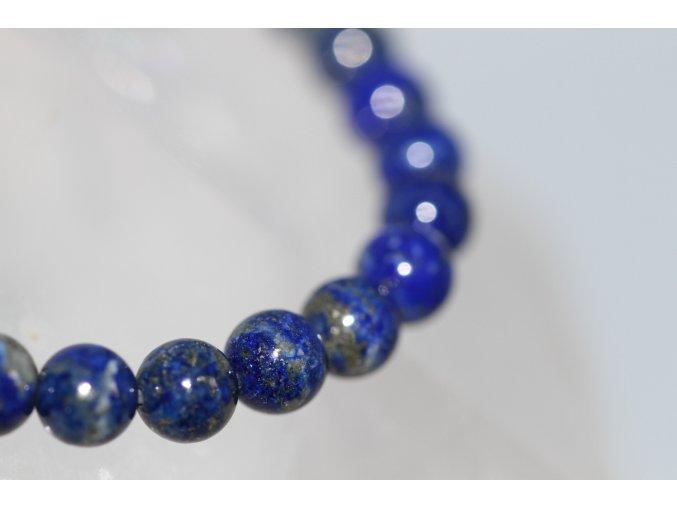 lapis lazuli náramek kuličky 4