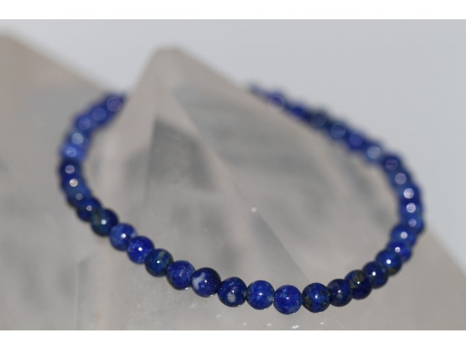 lapis lazuli lazurit náramek kuličky 5