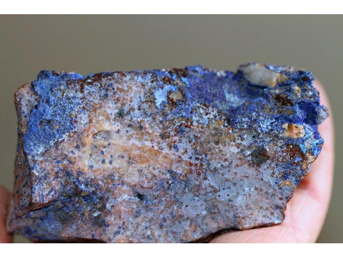 azurit přírodní surový maroko 4