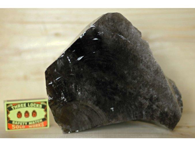 obsidián přírodní velký stříbřitý 2