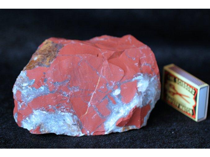 jaspis červený velký přírodní 2