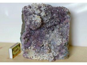 ametyst velký dekorativní kámen 1