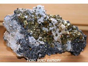 chalkopyrite sfalerite pyrite quartz 7