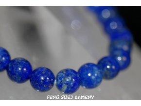 lapis lazuli náramek kuličky 9