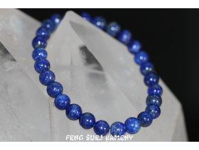 lapis lazuli náramek kuličky 10