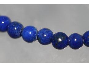 lapis lazuli lazurit náramek kuličky 6