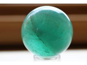 flurit zelený koule průsvitná 35