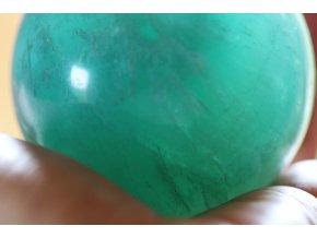 flurit zelený koule průsvitná 39