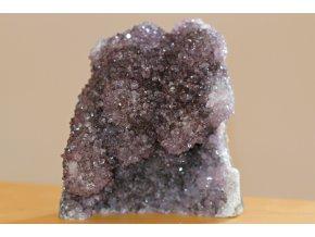 ametyst velký drůza šedé krystaly 3