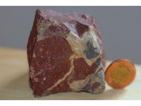 jaspis červený Feng Šuej kámen 5