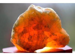 Kalcit žlutý feng šuej kámen 7