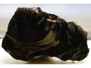 obsidián velký přírodní masívní 23