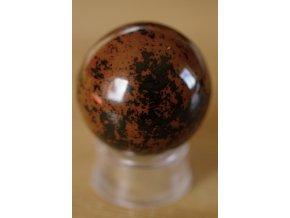 obsidián mahagon moka koule 5