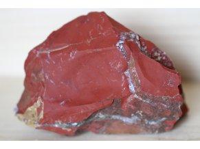 jaspis červený přírodní surový 21