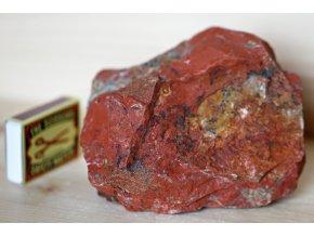 jaspis červený velký dekorativní 5