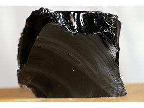 obsidián surový feng šuej kámen 13