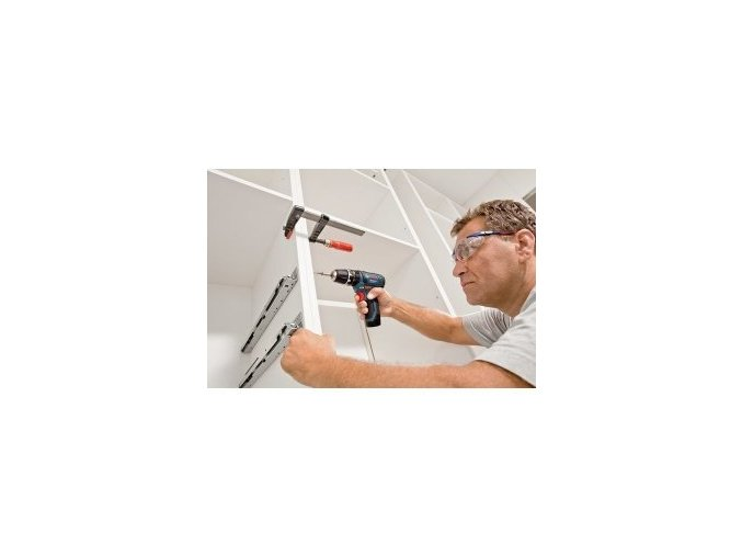 Aku vrtací šroubovák Bosch GSR 12-15 Professional - 2x AKU 2,0Ah, 0601868122