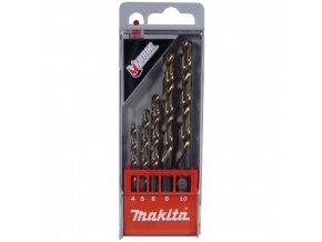 Makita D-30508 sada vrtáků do kovu HSS-G DIN 338, Typ N, 118°, Mforce 4/5/6/8/10mm, 5ks