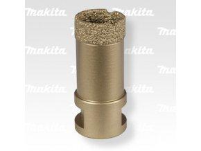 Makita D-44476 děrovka s diamantovým zrnem 25mm (se závitem M14 pro úhlovou brusku)