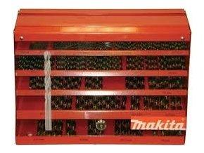 Makita P-60539 sada vrtáků do kovu HSS-G 30ks1;30ks1,5;60ks2;60ks2,5;100ks3;80ks3,5;100ks4;30ks4,5;30ks5;20ks5,5;20