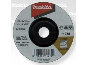 Makita A-80852 brusný kotouč 100x6x16 nerez