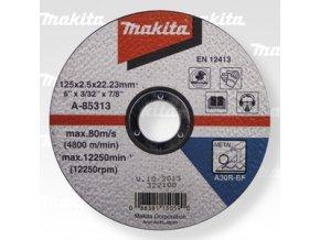 Kotouč řezný A-85313  125x2,5x22 ocel