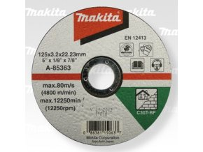 Makita A-85363 řezný kotouč 125x3x22 kámen