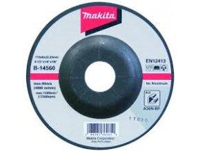 Makita B-14560 brusný kotouč 115x6x22 hliník