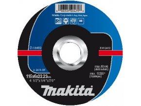 Makita D-18459 brusný kotouč na kov 115x6mm