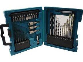 Makita D-36980 sada vrtáků a příslušenství 34 ks v plastovém kufru