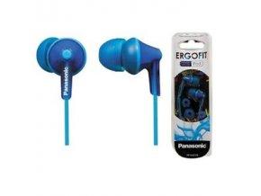Panasonic RP-HJE125-A modrá sluchátka