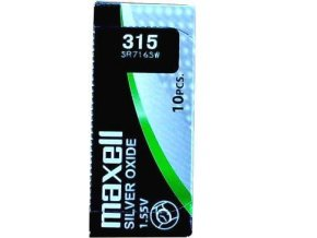 Maxell 315 Silver oxide 716SW
