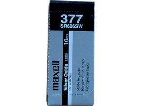 Maxell 377 Silver oxide 626 SW