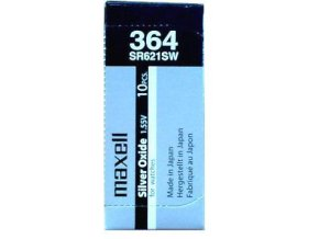 Maxell 364 Silver oxide 621 SW