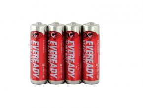 Energizer R6/4P Eveready Red