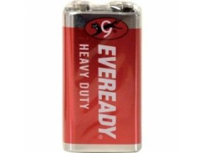 Energizer 6F22/1P Eveready Red