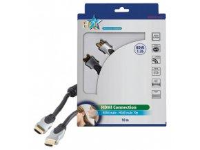 HQSS5550/ 10m PROFI HDMI v.1.3 19 pin