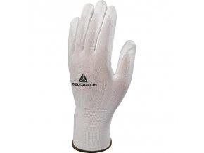 DeltaPlus VE702P bezp. rukavice bílé