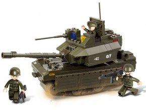 Sluban B-0287 Tank M1A2-Abrams 219 dílků