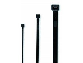 Cimco 181804 Vázací páska 200x3,5mm černá - 100ks