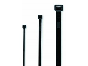 Cimco 181868 Vázací páska 280x4,5mm černá - 100ks