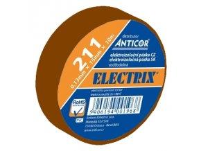 Anticor 211P/15mm x 10m PVC hnědá - 10ks