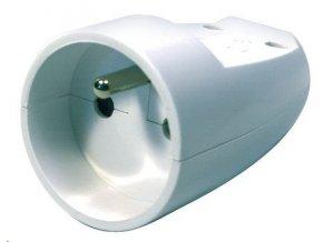 Tympol Plastrol GP-1 spojovací zásuvka bílá