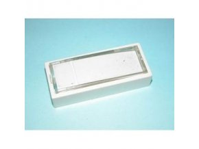 ABB ZT1 zvonkové tlačítko boční bílá