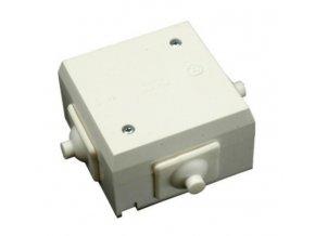 SEZ 6456-13 krabice plastová bílá