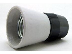 DESKO 1332-146 objímka keram. E27, typ P-1-A kombinovaná