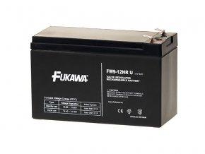 Fukawa FW 9-12 HRU (12V; 9Ah; faston 6,3mm)